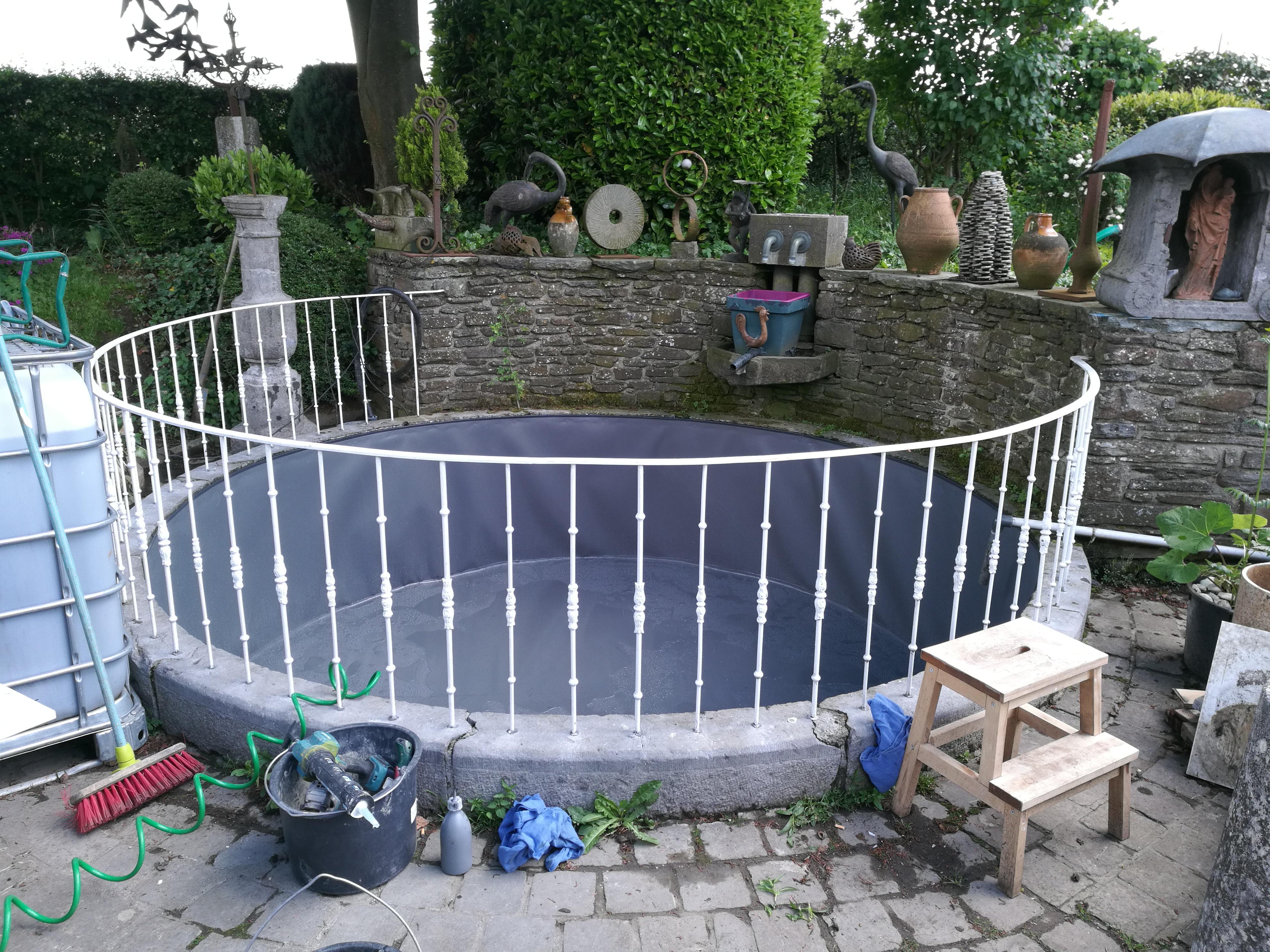 Pbt tanch it r novation piscine r novation bassin for Membrane etanche bassin